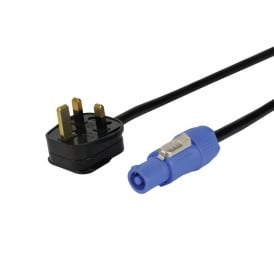 13A to Neutrik Powercon Cable 1.5mm 3183Y PVC