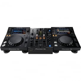2 X PIONEER XDJ-700, PIONEER DJM-450 BUNDLE, INCLUDES REKORDBOX DJ & DVS