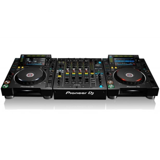 Pioneer DJ 2x cdj-2000 nxs & 1 djm-900 nxs2 Bundle Package
