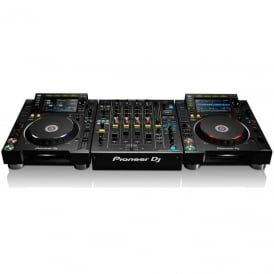 2x cdj-2000 nxs2 & 1 djm-900 nxs2 Bundle Package