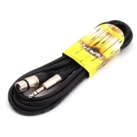 3 meter 6.35mm Stereo Jack - Female XLR