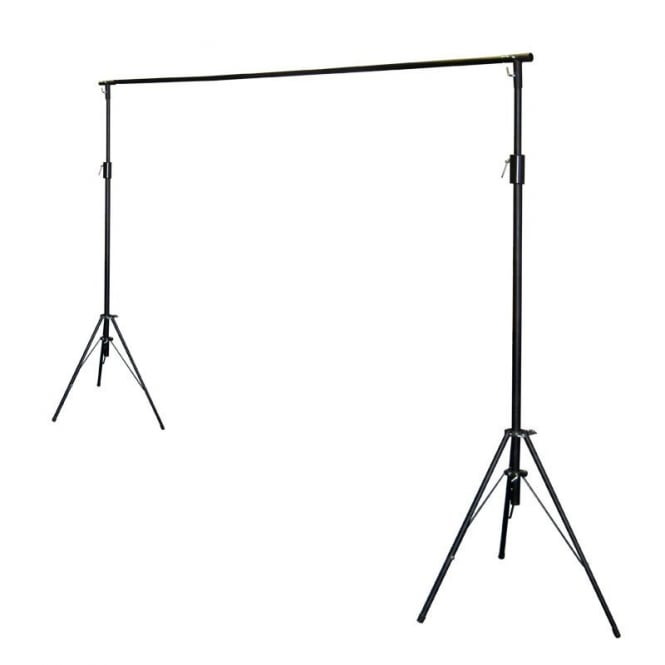 LEDJ 3 x 2M Stand and Bag Set. star cloth stand system