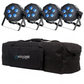 4 Mega QPlus GO Battery Powered Cans & Bag Bundle