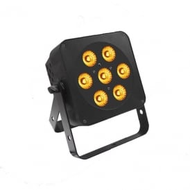 7Q5 Led Uplighter 7 x 5watt RGBA led