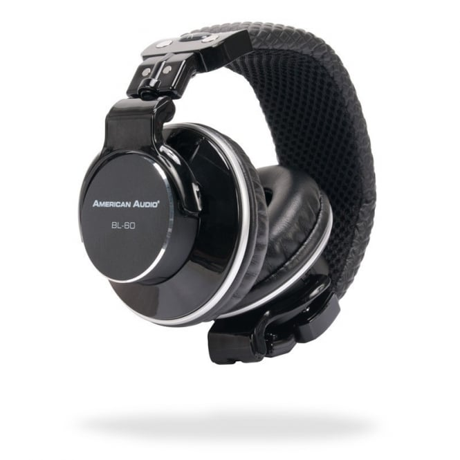 American Audio BL-60 on ear headphones