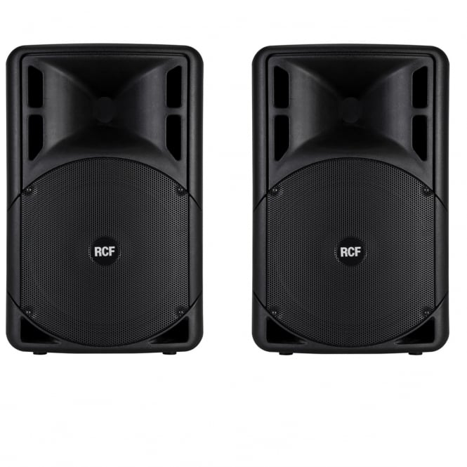 RCF Professional Audio ART 315-A MK III ACTIVE TWO-WAY SPEAKER's PAIR Bundle