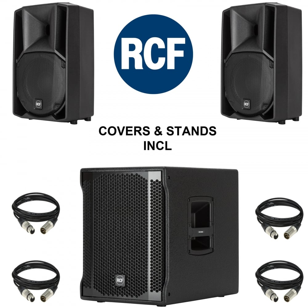 Rcf 710a And Sub 702 Asii Package