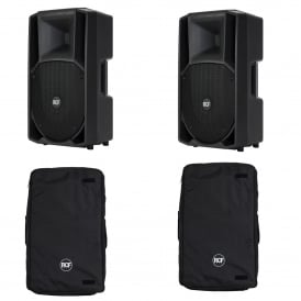ART 712-A MK II ACTIVE TWO-WAY SPEAKER'S with COVERS Bundle