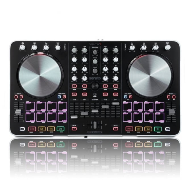 Reloop Beatmix 4, 4-channel Pad Controller for Serato DJ