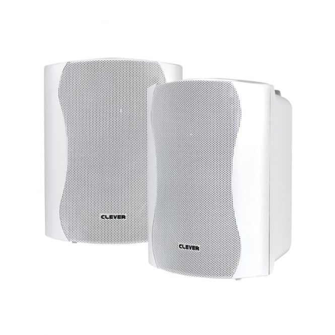 Clever Acoustics BGS 25 White 8 Ohm Speakers (Pair)