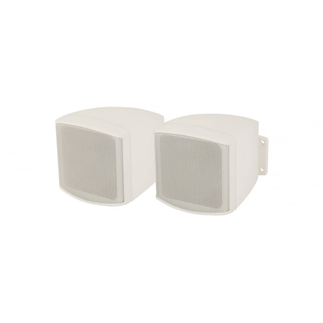 Adastra C25VW 2.5inch Compact Background Loudspeakers White Pair