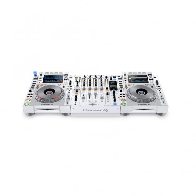 Pioneer DJ CDJ-2000 NXS2 & DJM-900 NXS2 White Limited Edition Package