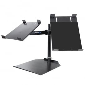 CDJ dual table stand Fully adjustable universal twin CDJ stand