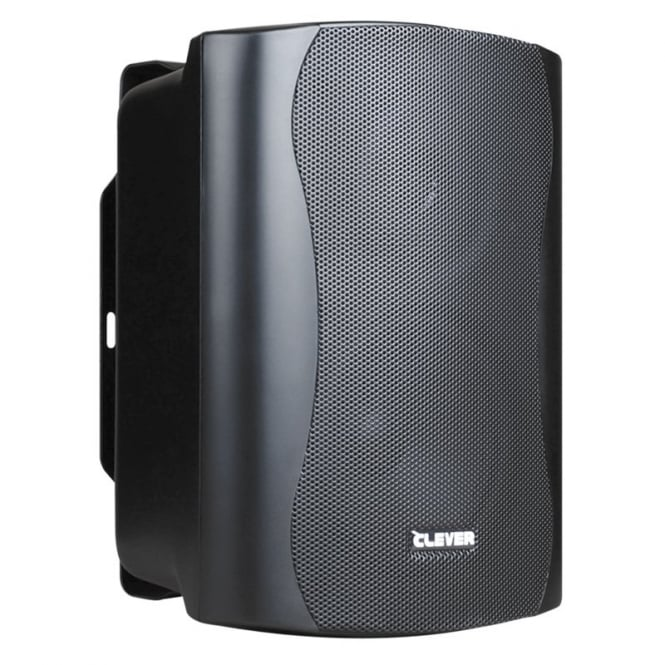 Clever Acoustics Clever Acoustics WPS 35T Black 100V Weatherproof Speakers (Pair)