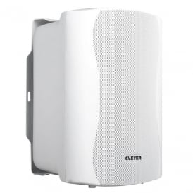 Clever Acoustics WPS 35T White 100V Weatherproof Speakers (Pair)