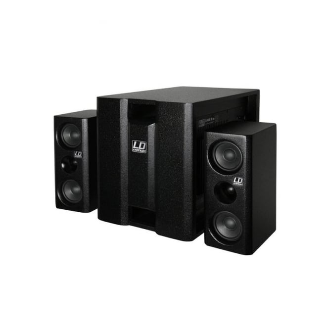 LD Systems Dave 8 XS 350 Watt Active 2.1 System Black