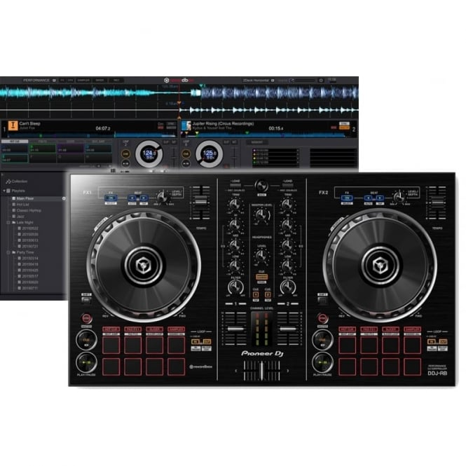 Pioneer DJ DDJ-RB DJ Controller with FREE Full Rekordbox DJ Software