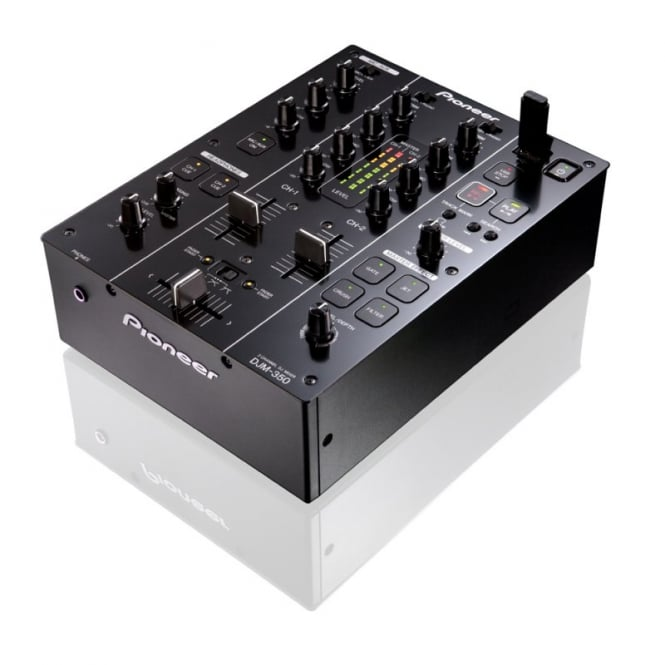 Pioneer DJ Djm 350 2 Channel Mixer With Effects And Record Facility
