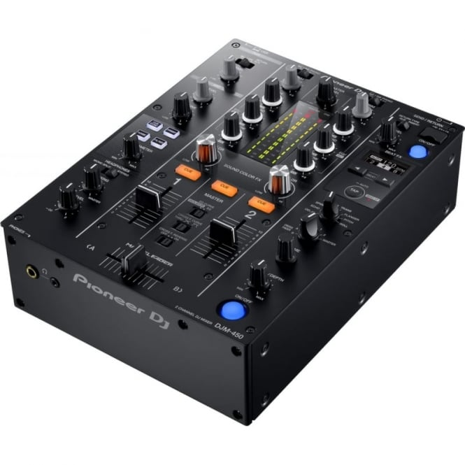 Pioneer DJ DJM-450 2-Channel Mixer with Sound Colour FX and Beat FX with Parameter Control