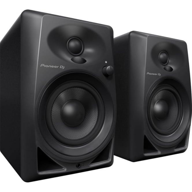 Pioneer DJ DM-40 Share 4-inch compact active monitor speaker PAIR