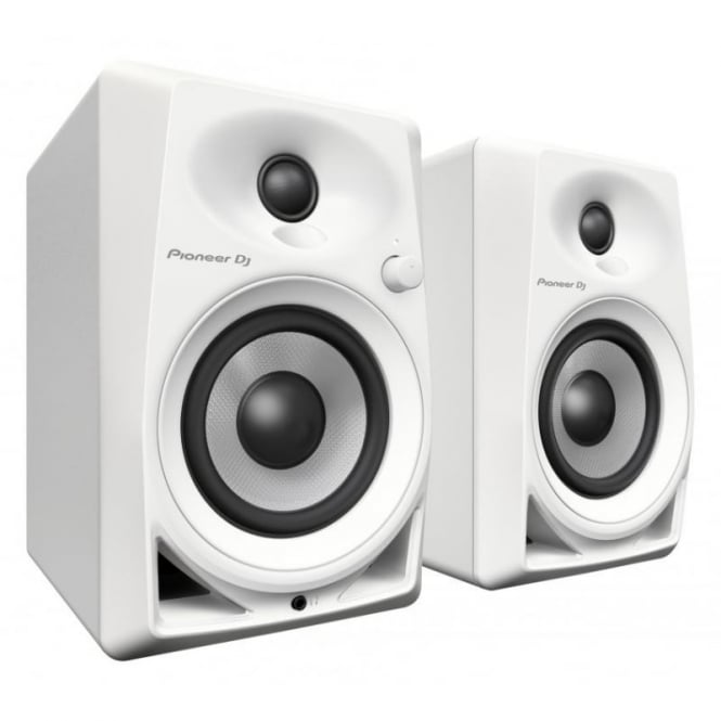 Pioneer DJ DM-­40-­W desktop monitor speakers