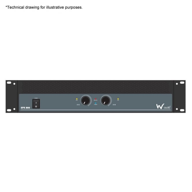 W Audio EPX 800 Amplifier