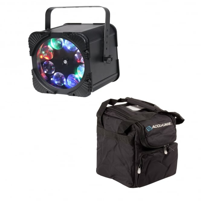 Equinox Crossfire LED Disco Light Effect & Bag Bundle