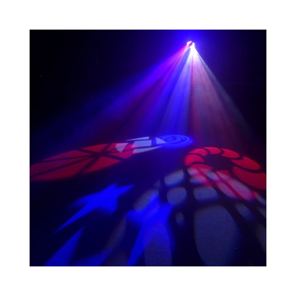 Crossfire Xp 80watt Led Dmx Moon Flower Gobo Lighting Effect