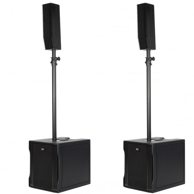 RCF Professional Audio EVOX 8 ACTIVE TWO-WAY ARRAY PAIR Bundle