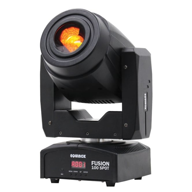 Equinox Fusion 100 Spot 80 watt LED Moving Head