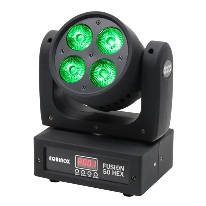 Equinox Fusion 50 HEX Moving Head