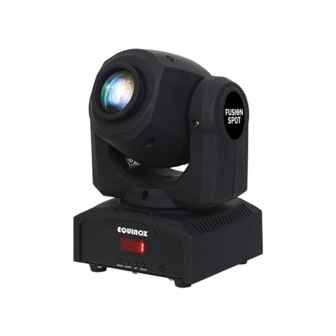 Equinox Fusion Spot MKII dmx LED moving head with gobos