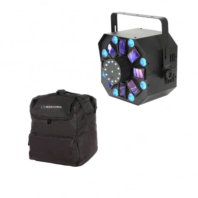 QTX Hadron Wash 4-in-1 Light Effect and Bag Bundle