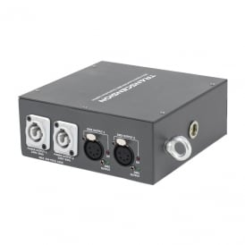 HS2 Hybrid PowerCON DMX Distribution Splitter