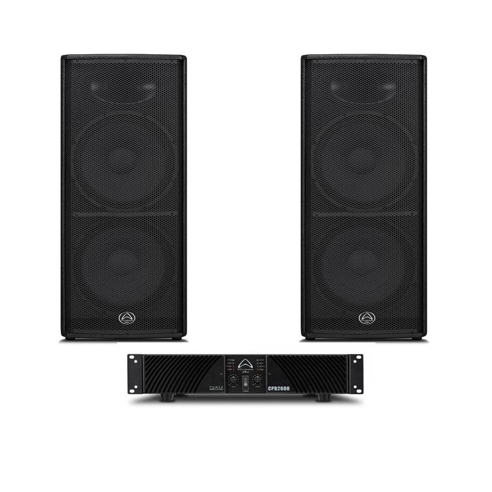 Wharfedale Pro Wharfedale Pro Impact 215 Amp Cpd 2600 Bundle