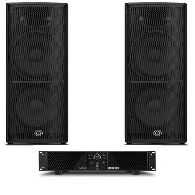 Wharfedale Pro Impact 215 & CPD 2600 Bundle