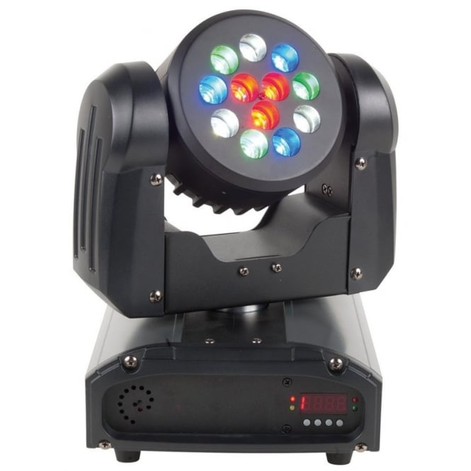American DJ Inno Color Beam 12 LED moving head wash effect