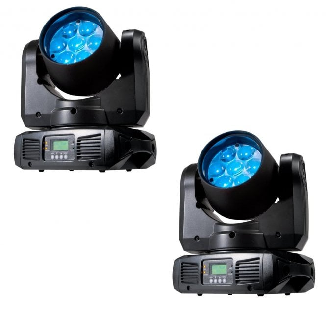 American DJ Inno Color Beam Z7 led moving head PAIR
