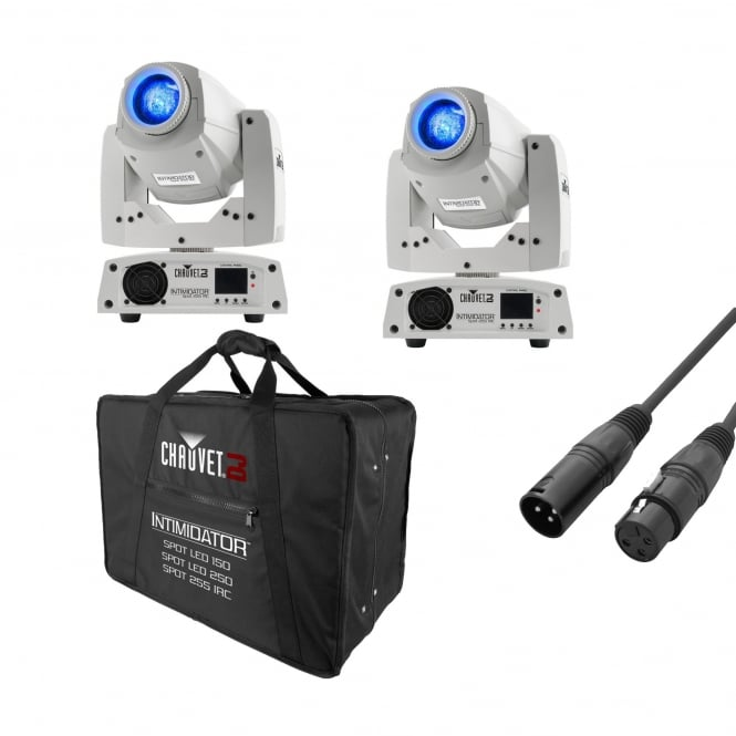 Chauvet Intimidator Spot 255 IRC White & Bag Bundle
