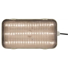 IP65 bulkhead LED light 16W 4200K clear cover