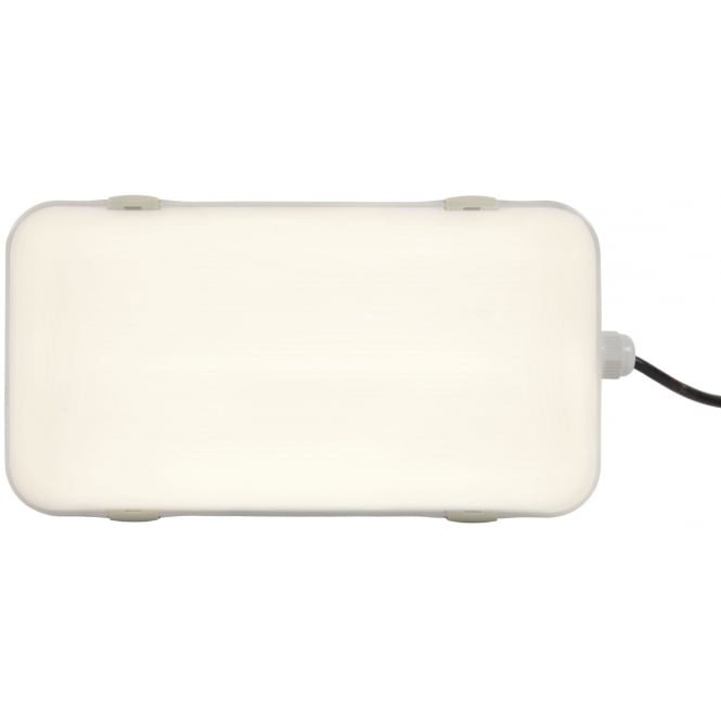 Fluxia IP65 bulkhead LED light 16W 4200K frosted cover