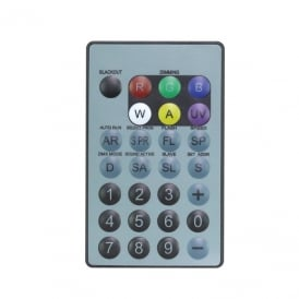 IR Remote for LEDJ HEX Fixtures (RGBWAUV)