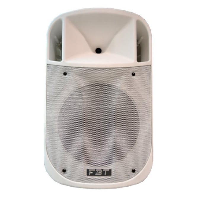 FBT J 12A Processed Active PA speaker 350W+ 100W RMS WHITE VERSION