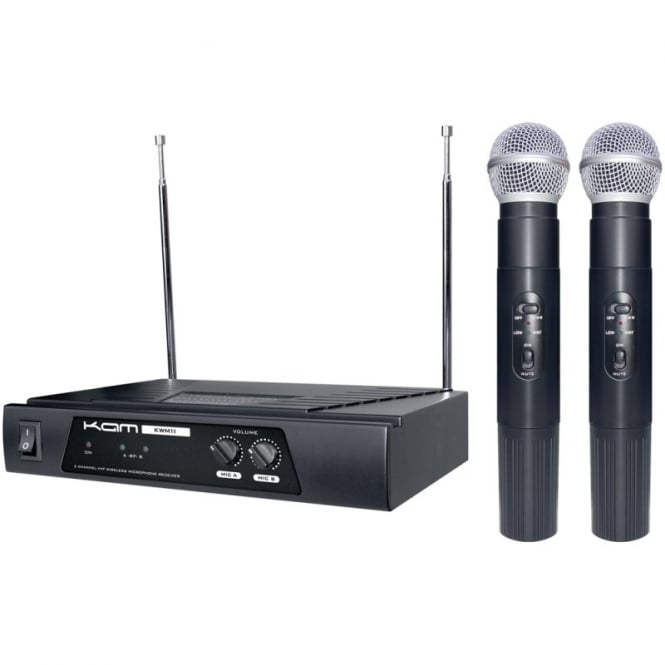 Kam Kwm11 Wireless Twin Mic System Free Delivery!!