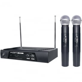 Kwm11 Wireless Twin Mic System Free Delivery!!