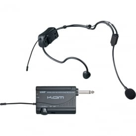 KWM1900 HS Wireless Aerobic microphone kit