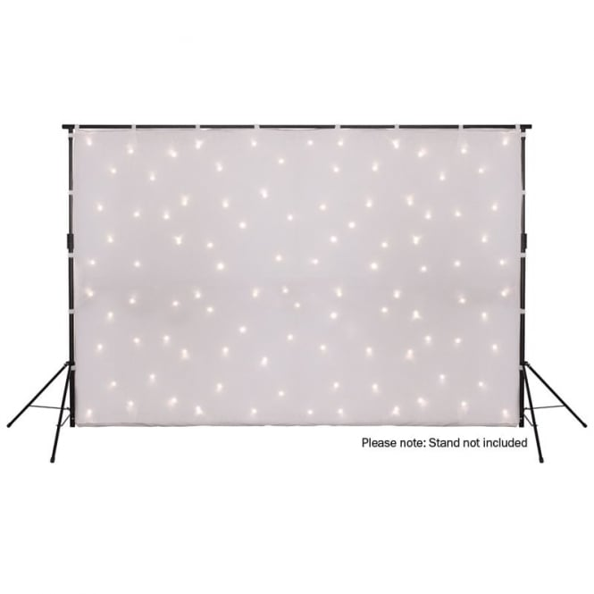 LEDJ Led Starcloth System 3x2m Whitecloth, WW