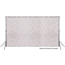 LED Starcloth System 6x3m White Cloth, WW