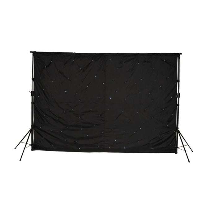 LEDJ Star Cloth System LED 3X2 Star Cloth kit with stand/bag and controller