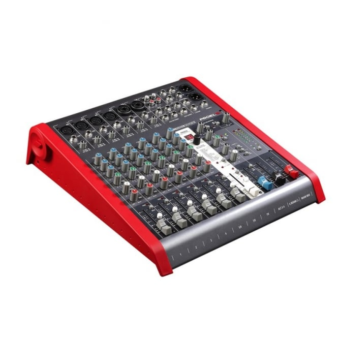 Proel M822USB 8 channel mixing desk